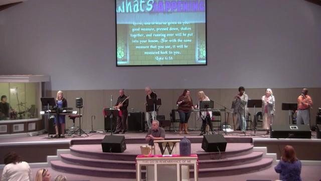 Sunday Service 10-1-17