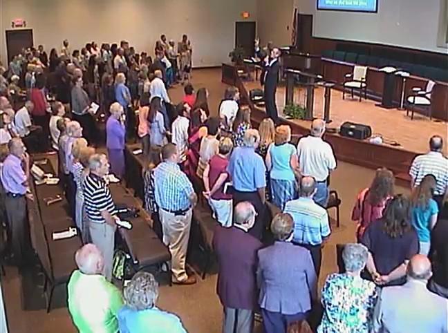 Sunday Service 8-23-15