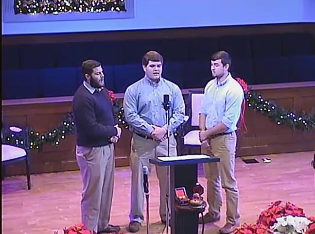 Sunday Service 12-20-15