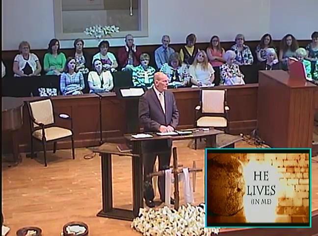Sunday Service 3-27-16