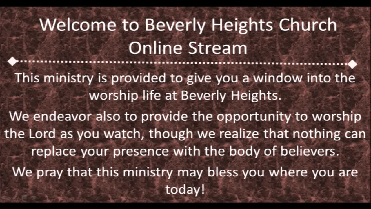 January 14 Beverly Heights Together