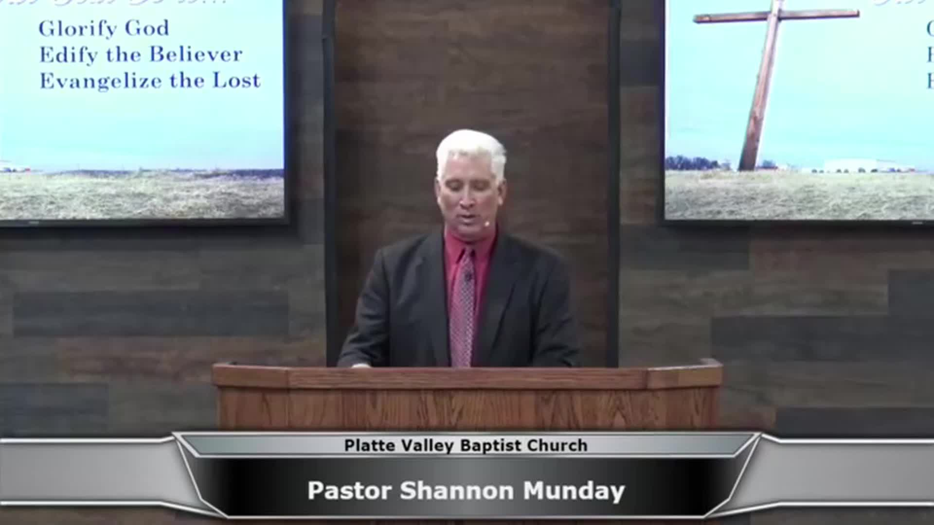 Sunday Morning Service  1-21-2018