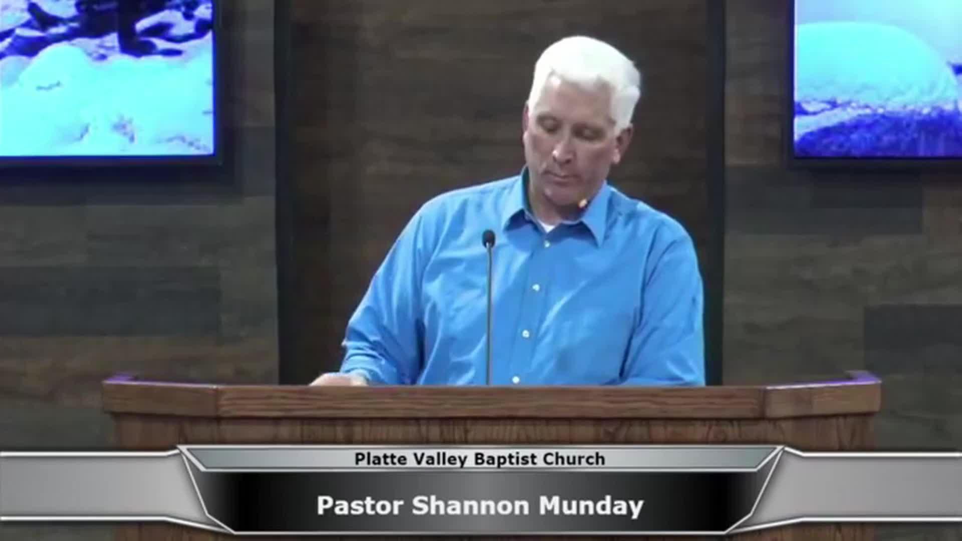 Wednesday Evening Service 1-31-2018