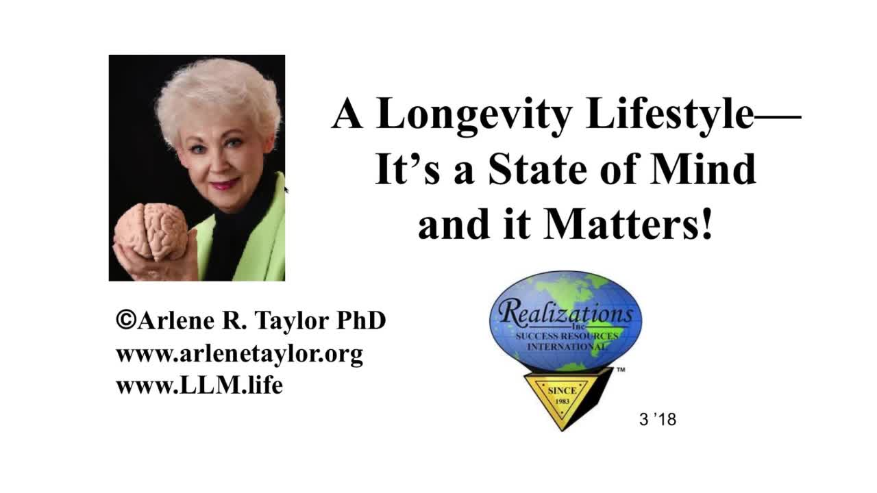 Components of Longevity Lifestyle 3pm