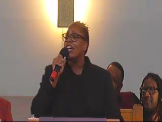 Initial sermon- Melissa Hanks