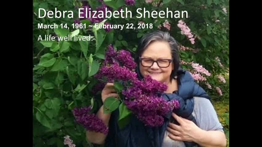 Debra Sheehans Celebration Service