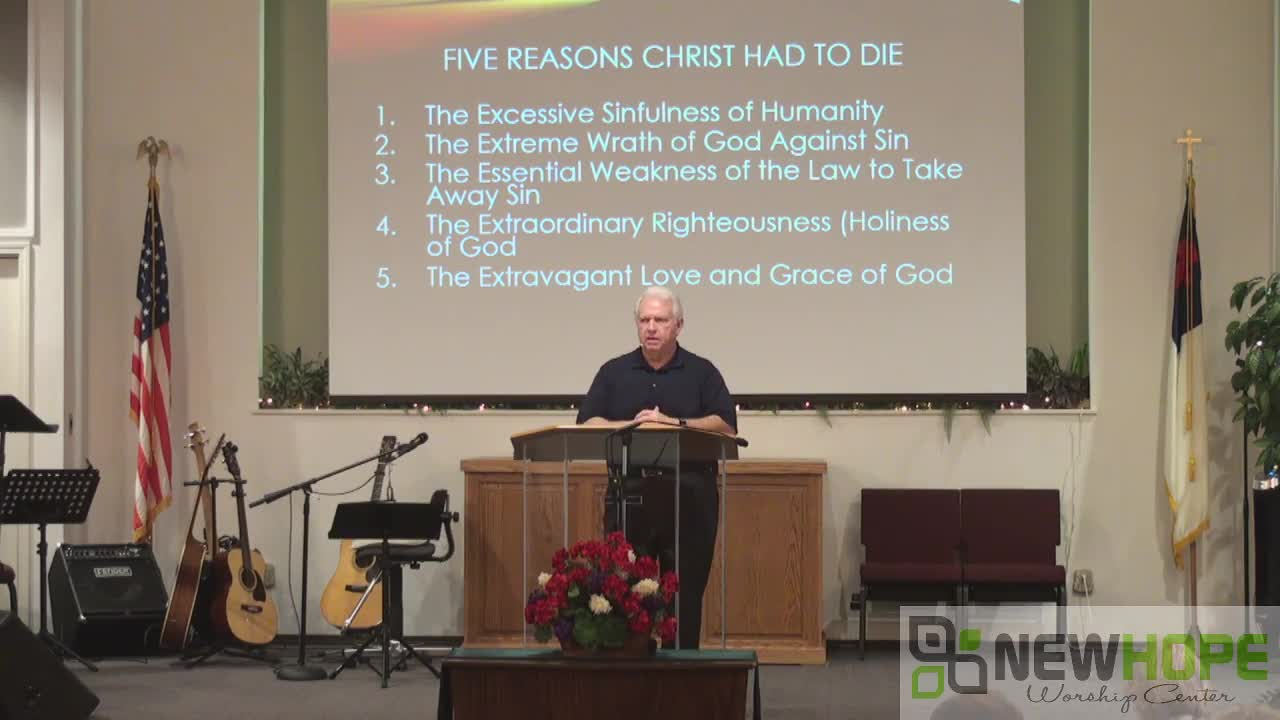 Five Reasons Christ Had To Die