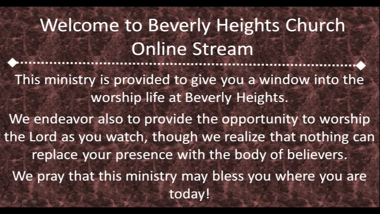 August 5 Beverly Heights Together