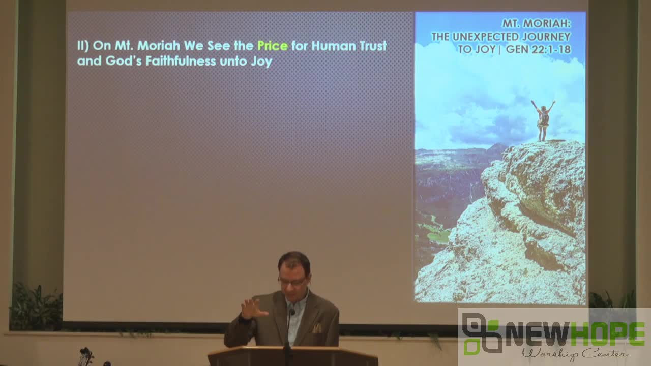 Mt Moriah The Unexpected Journey To Joy