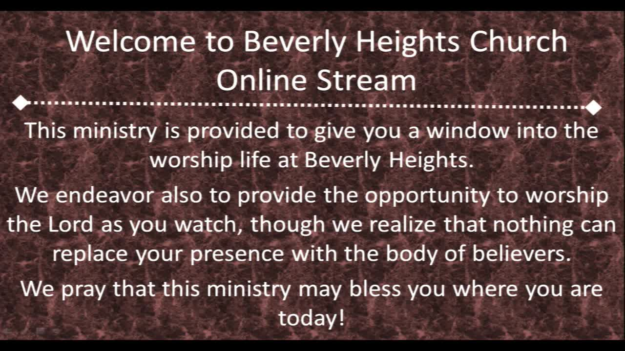 August 19 Beverly Heights Together