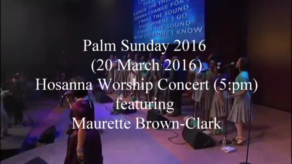 2016 Maurette Brown Clark Concert