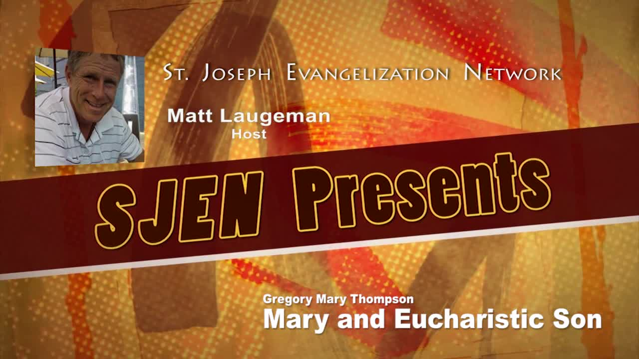 Mary and Eucharistic Son