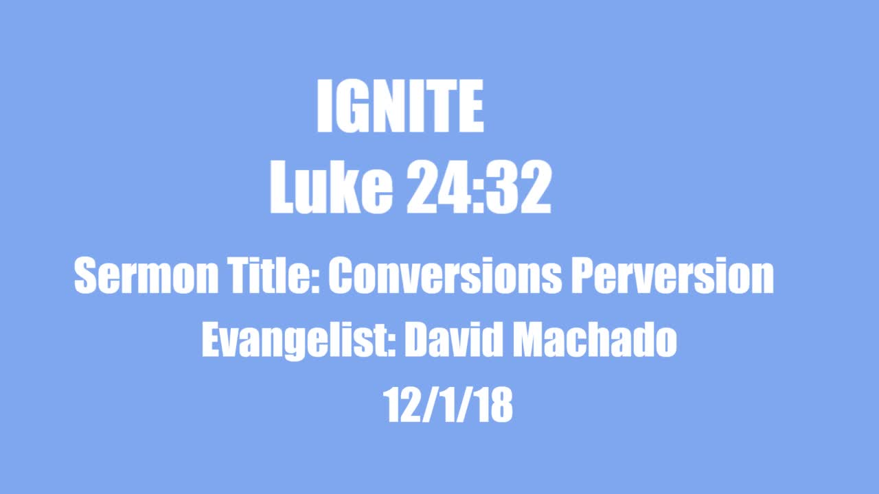 Conversions Perversion 12/1/2018
