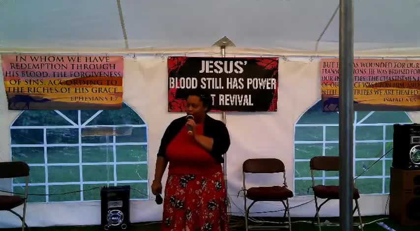 Jesus Blood Still Has Power Tent Revival 624