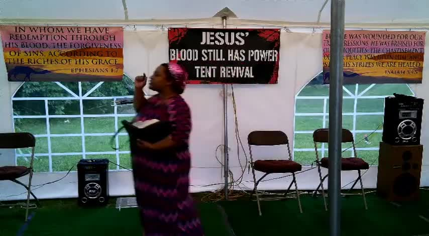 Jesus Blood Still Has Power Tent Revival 625