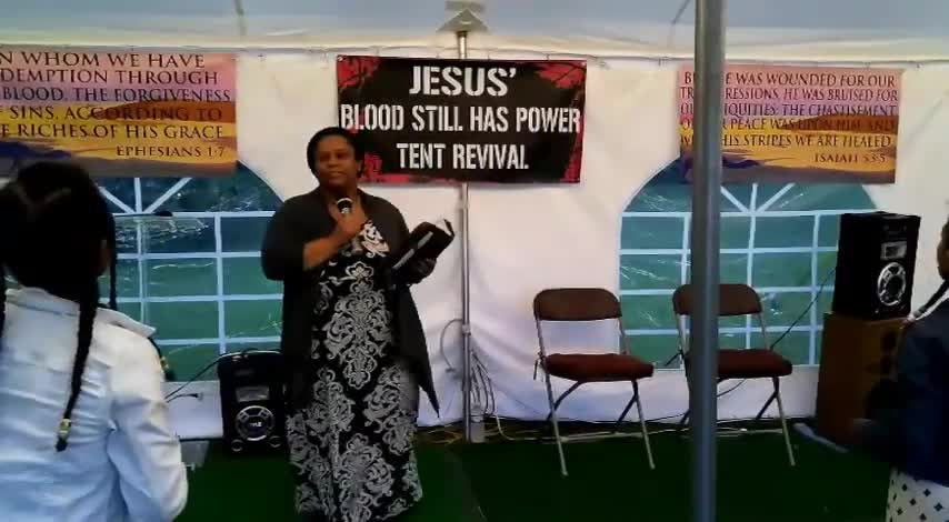 Jesus Blood Still Has Power Tent Revival 626