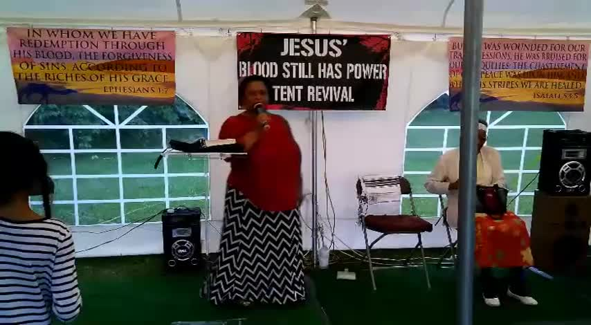 Jesus Blood Still Has Power Tent Revival 627