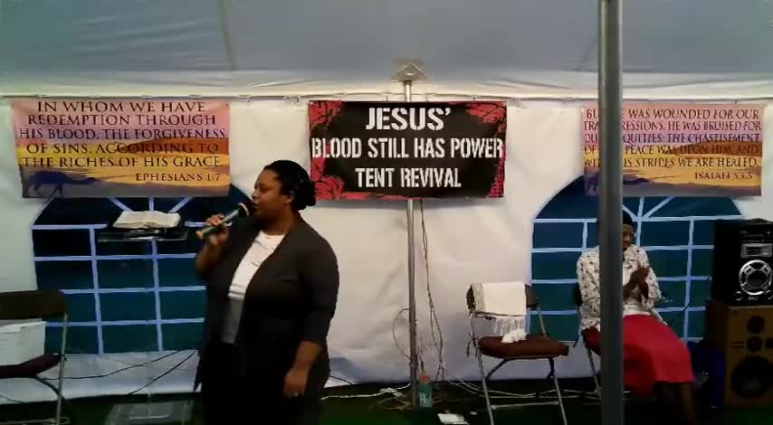 Jesus Blood Still Has Power Tent Revival 628