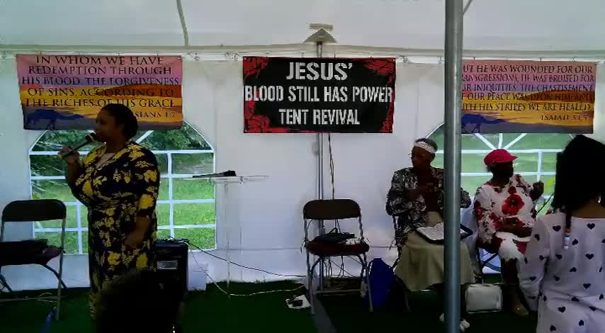 Jesus Blood Still Has Power Tent Revival 630