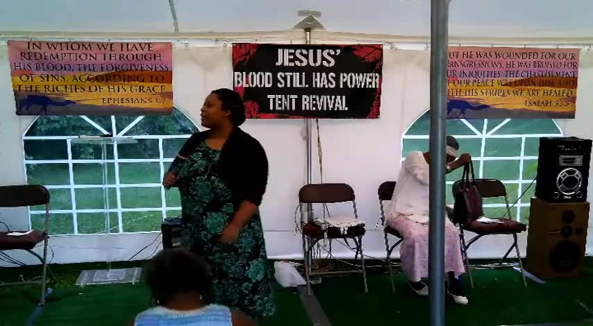 Jesus Blood Still Has Power Tent Revival 71
