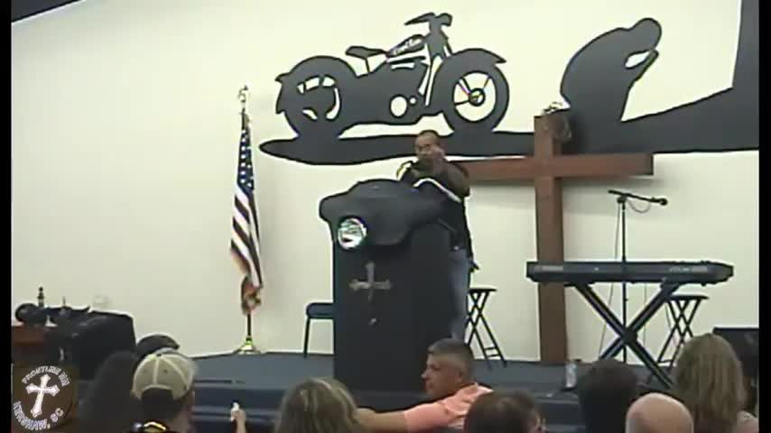 Revival Frontline Biker Church Service 09 03