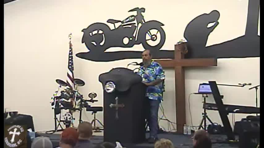 Revival Frontline Biker Church Service 09 12