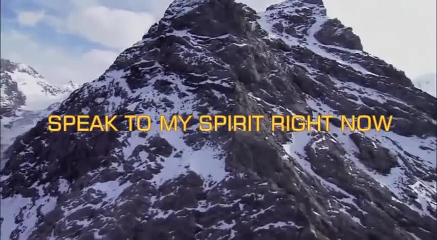 Speak To My Spirit Right Now Official Music