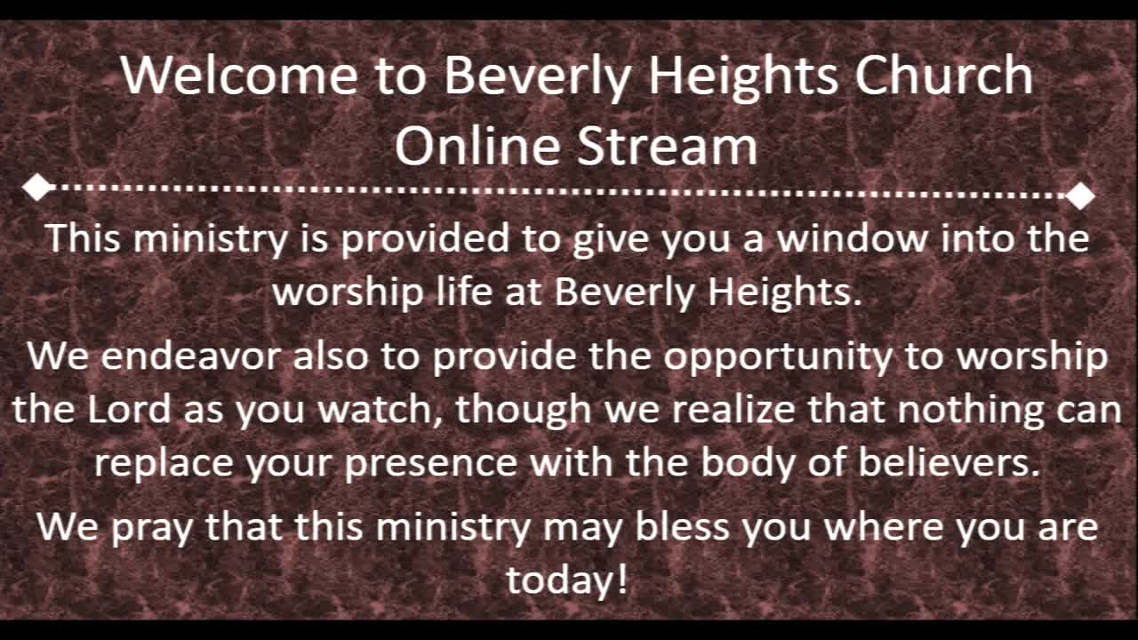 January 5 Beverly Heights Together