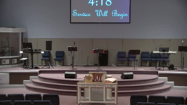 Wednesday night service 21920