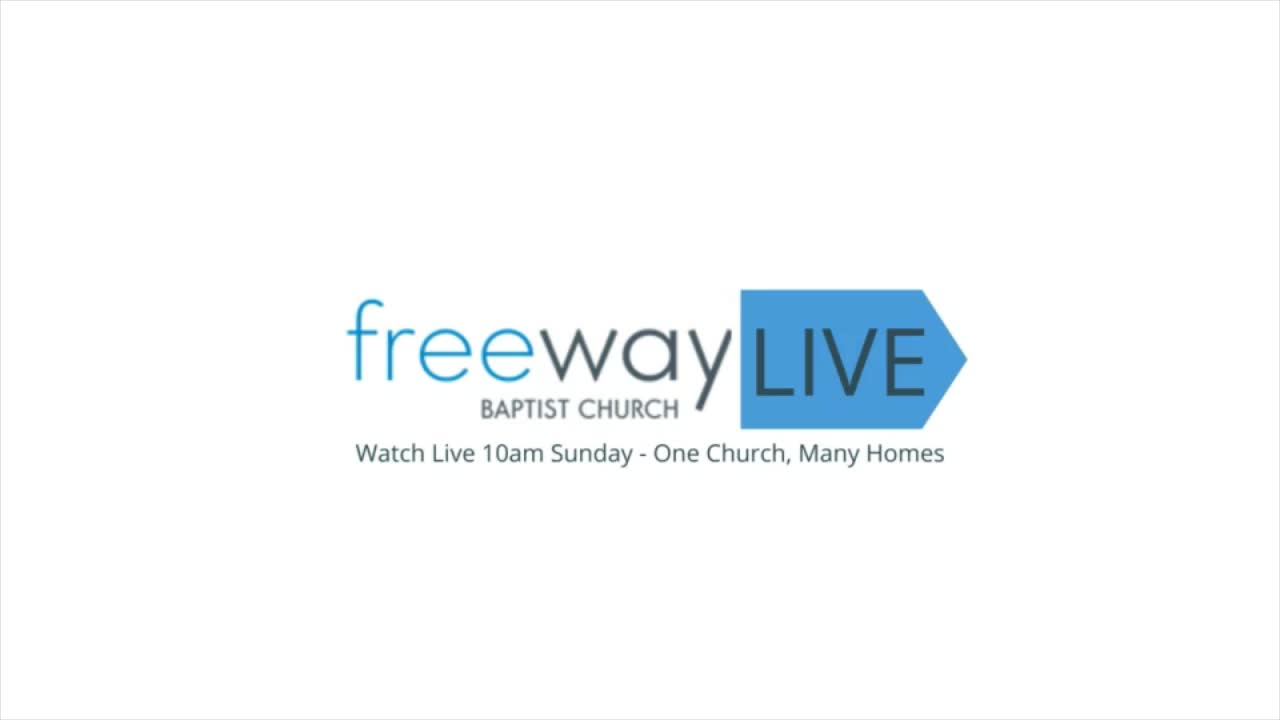 Freeway LIVE Worship 29 March 2020 A nonanxi