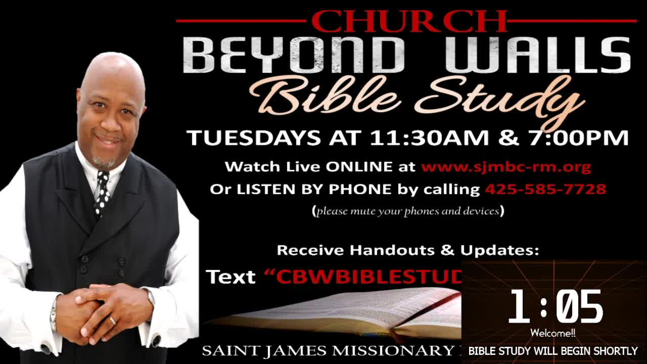 CBW Bible Study  September 8 2020
