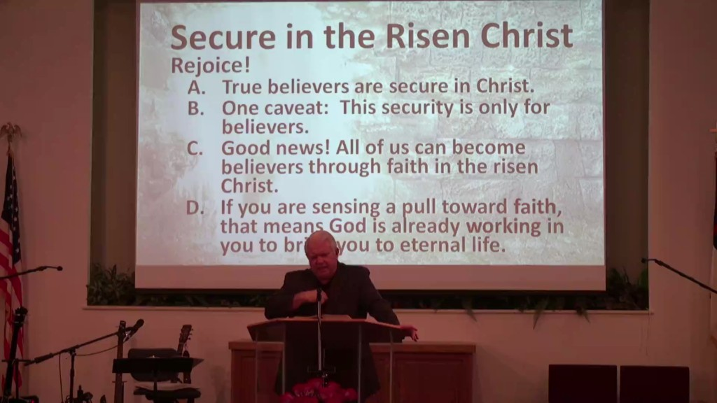 Secure In The Risen Christ