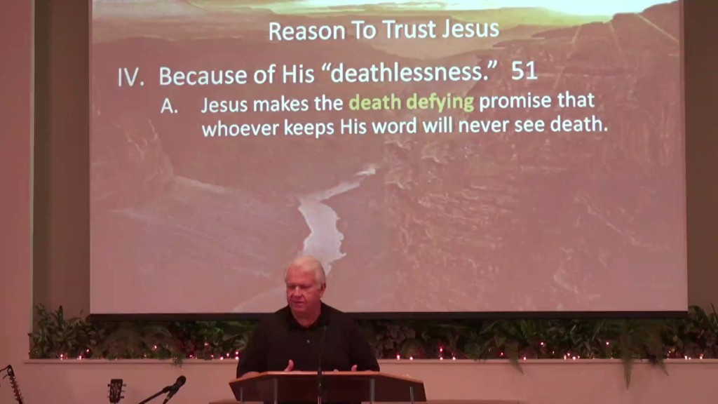 Reason To Trust Jesus