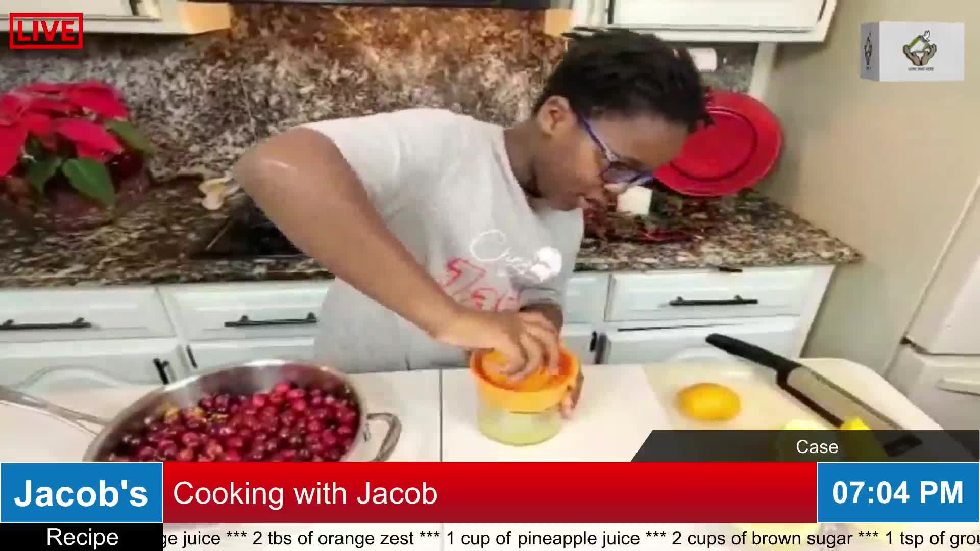 Cooking with Jacob