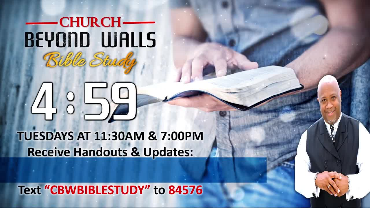 CBW Bible Study  January 12 2021