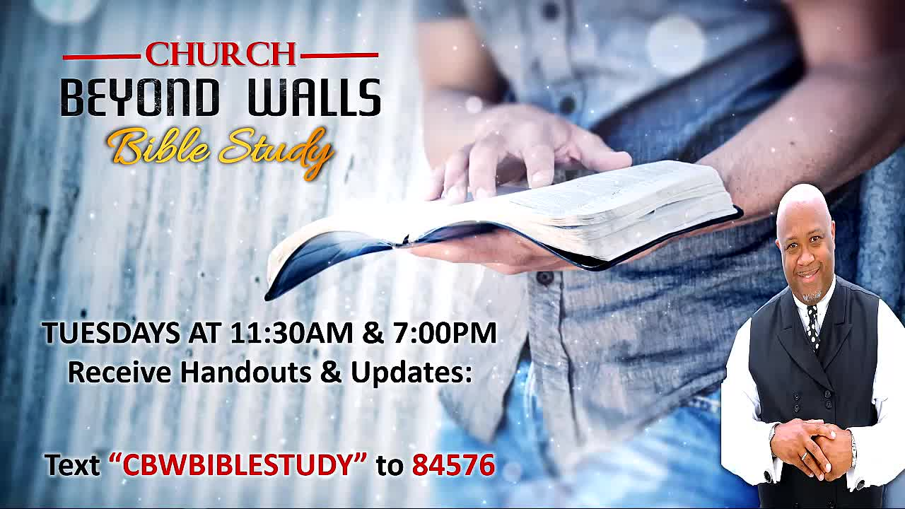 CBW Bible Study  January 19 2021