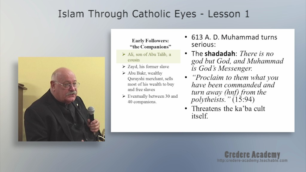 Islam Through Catholic Eyes 1