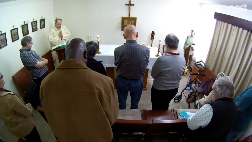 Mass at St. Joseph Chapel