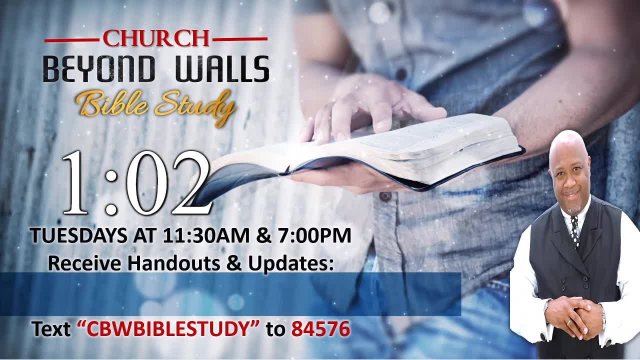 CBW Bible Study  March 9 2021