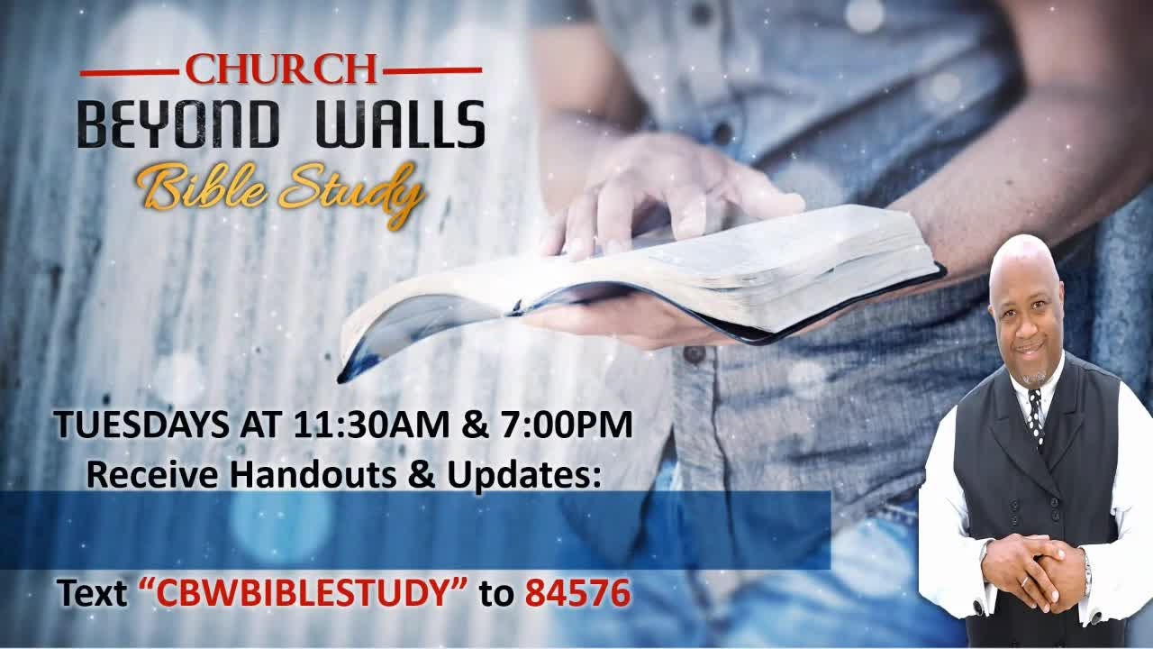 CBW Bible Study  March 23 2021