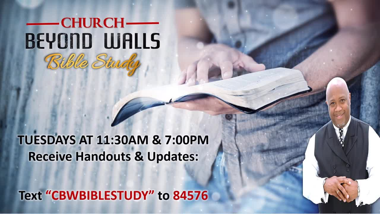 CBW Bible Study  March 30 2021
