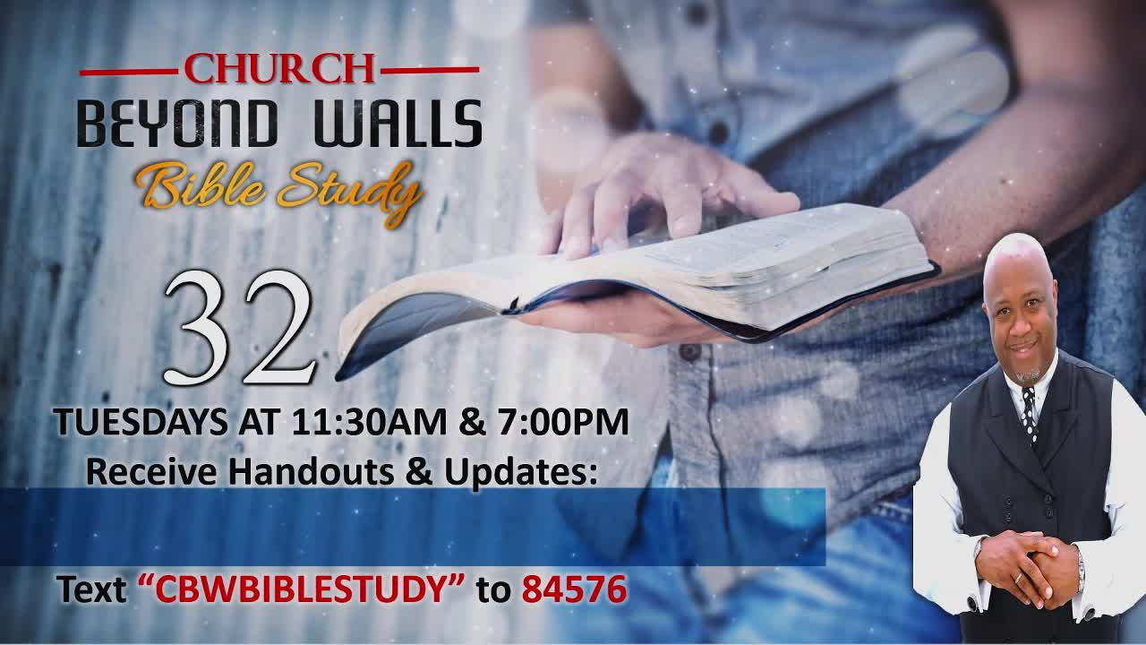 CBW Bible Study  April 13 2021