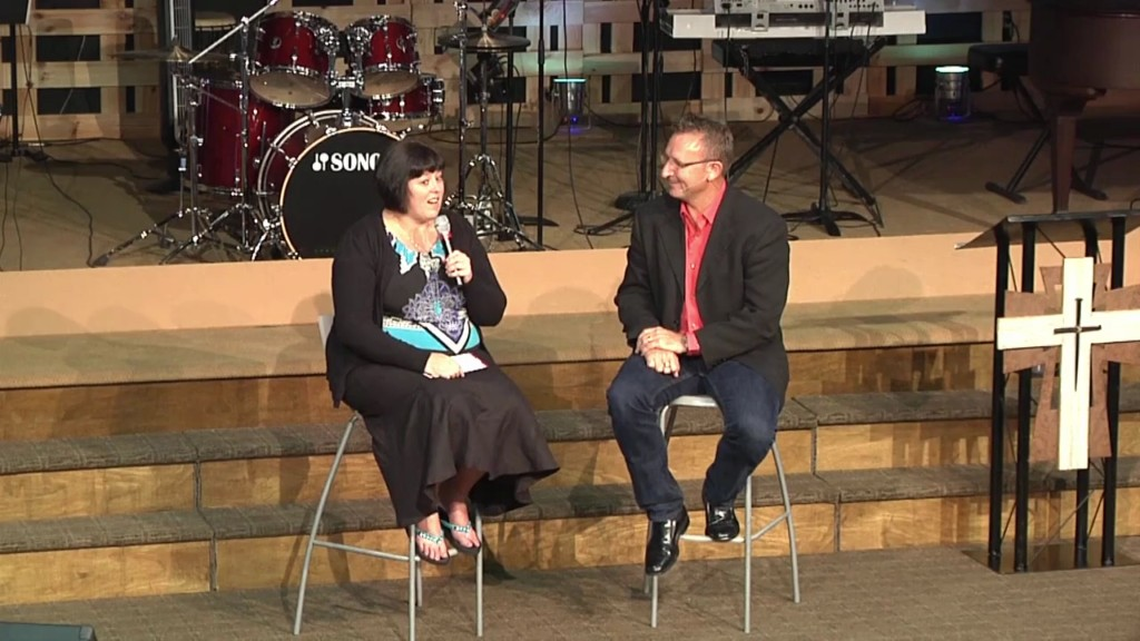 Pastor MIke Interviews Sue Mast