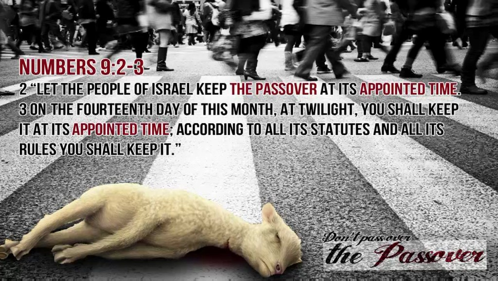Dont Pass Over the Passover