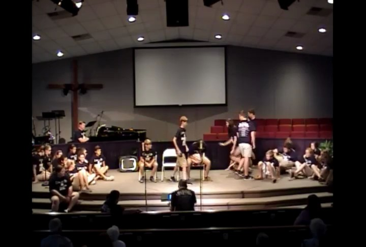 Gray UMC Youth Choir Live In Me