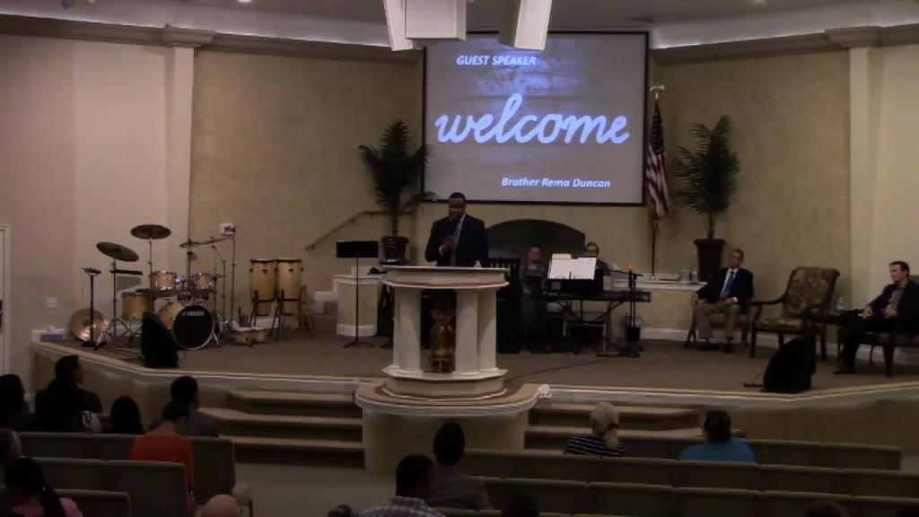 Guest Speaker: Rev. Rema Duncan