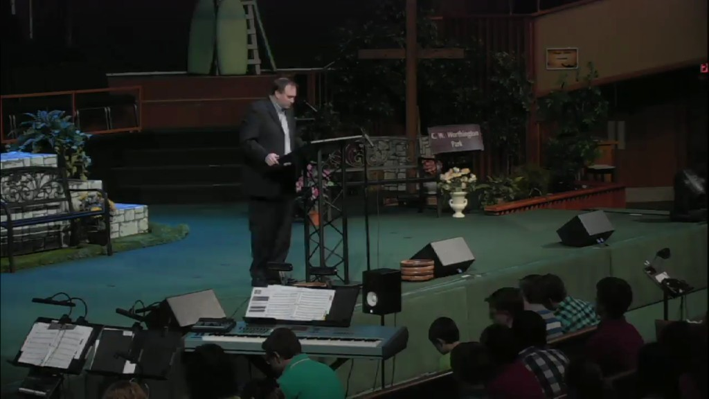 Sunday Morning Service - 4/26/2015