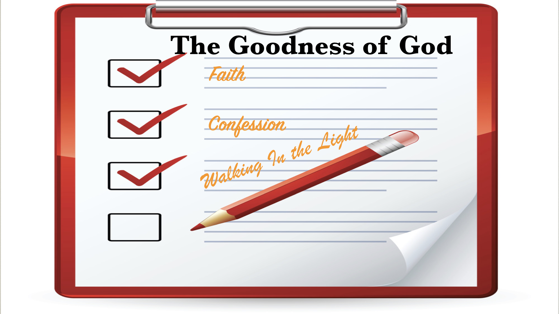 Goodness Checklist 1/28/2018 8:10:09 AM