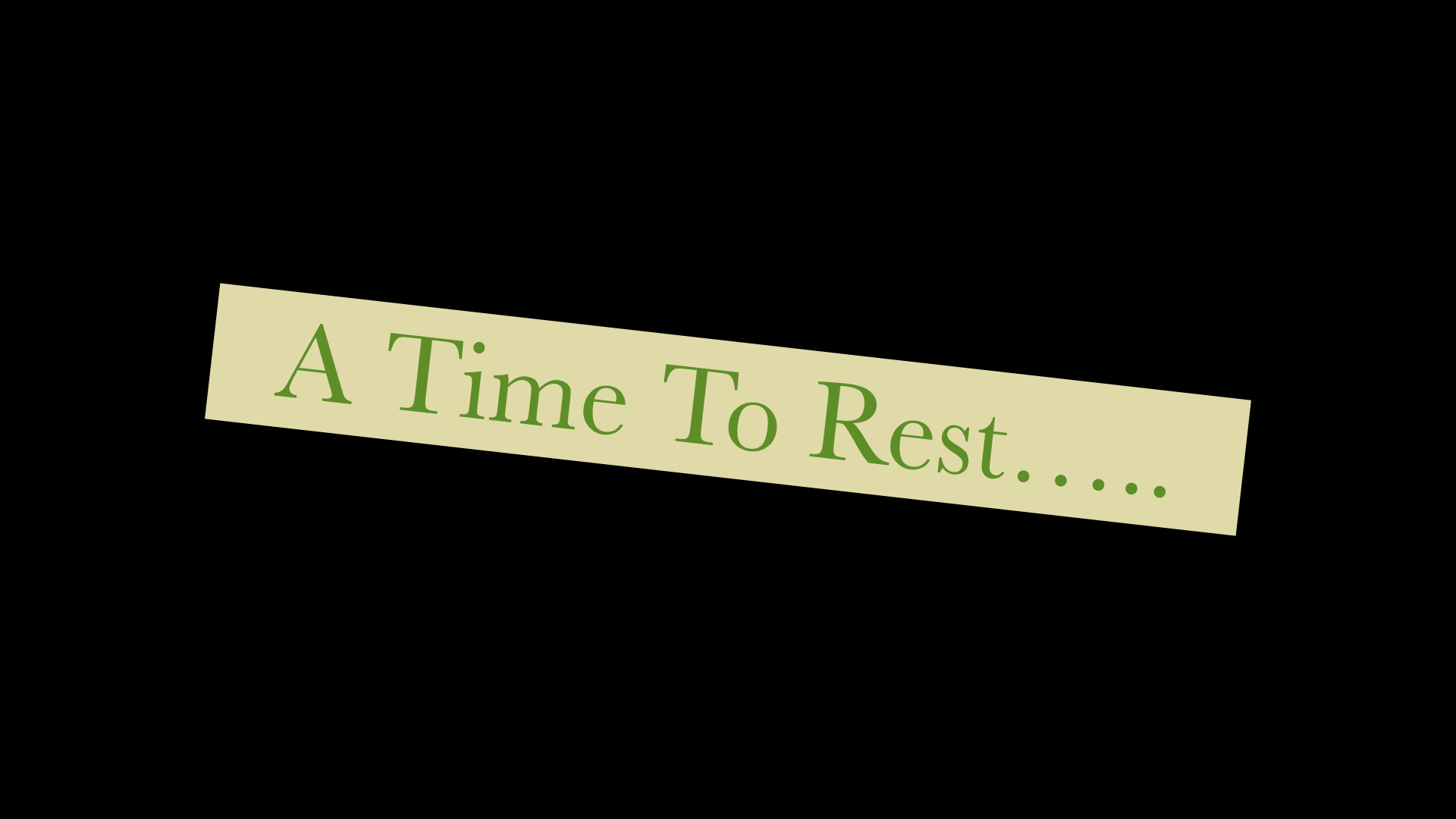 I Time To Rest 872019 50741 PM