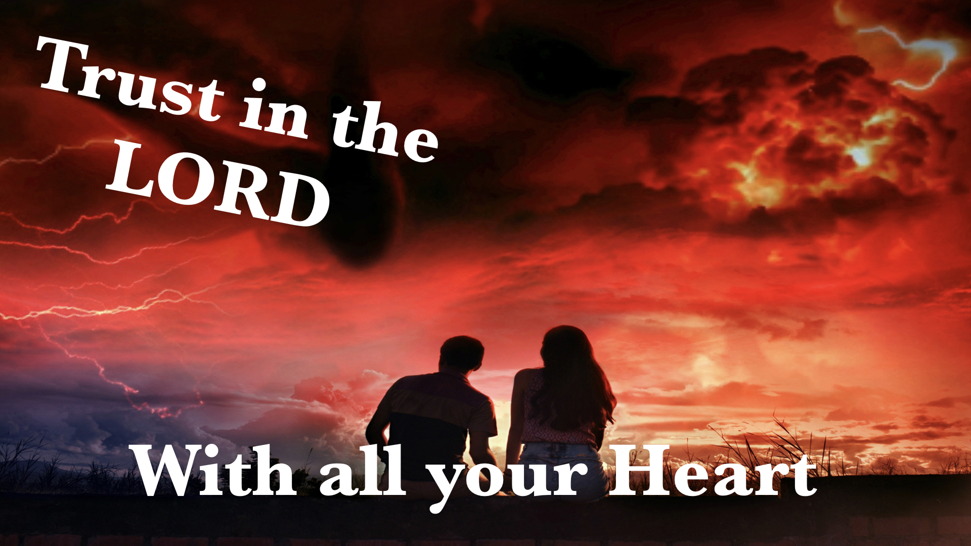Trust in the LORD with all Your Heart 4120